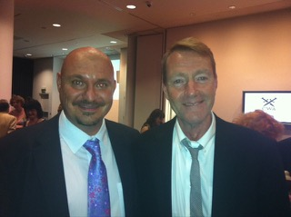 Mike Craven and Lee Child